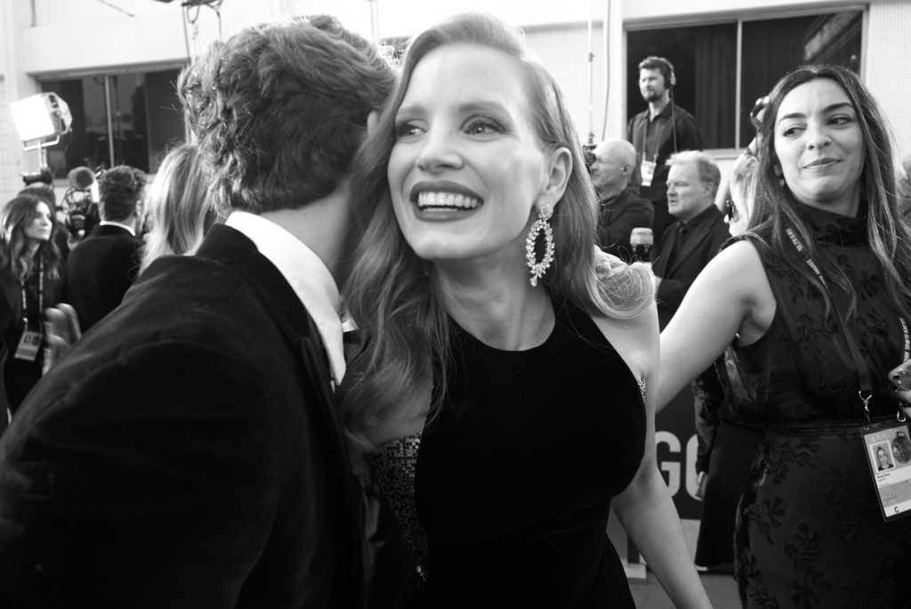 jessica chastain, awards, greg williams, gwp, gongs
