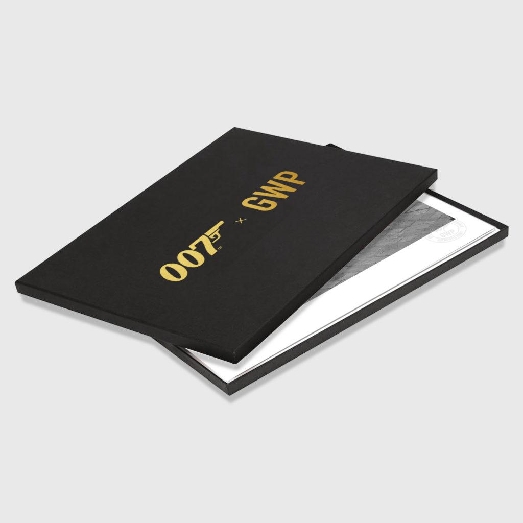 007, gwp, greg williams photography, james bond, on set, photographic prints, box set, eon, daniel craig, limited edition